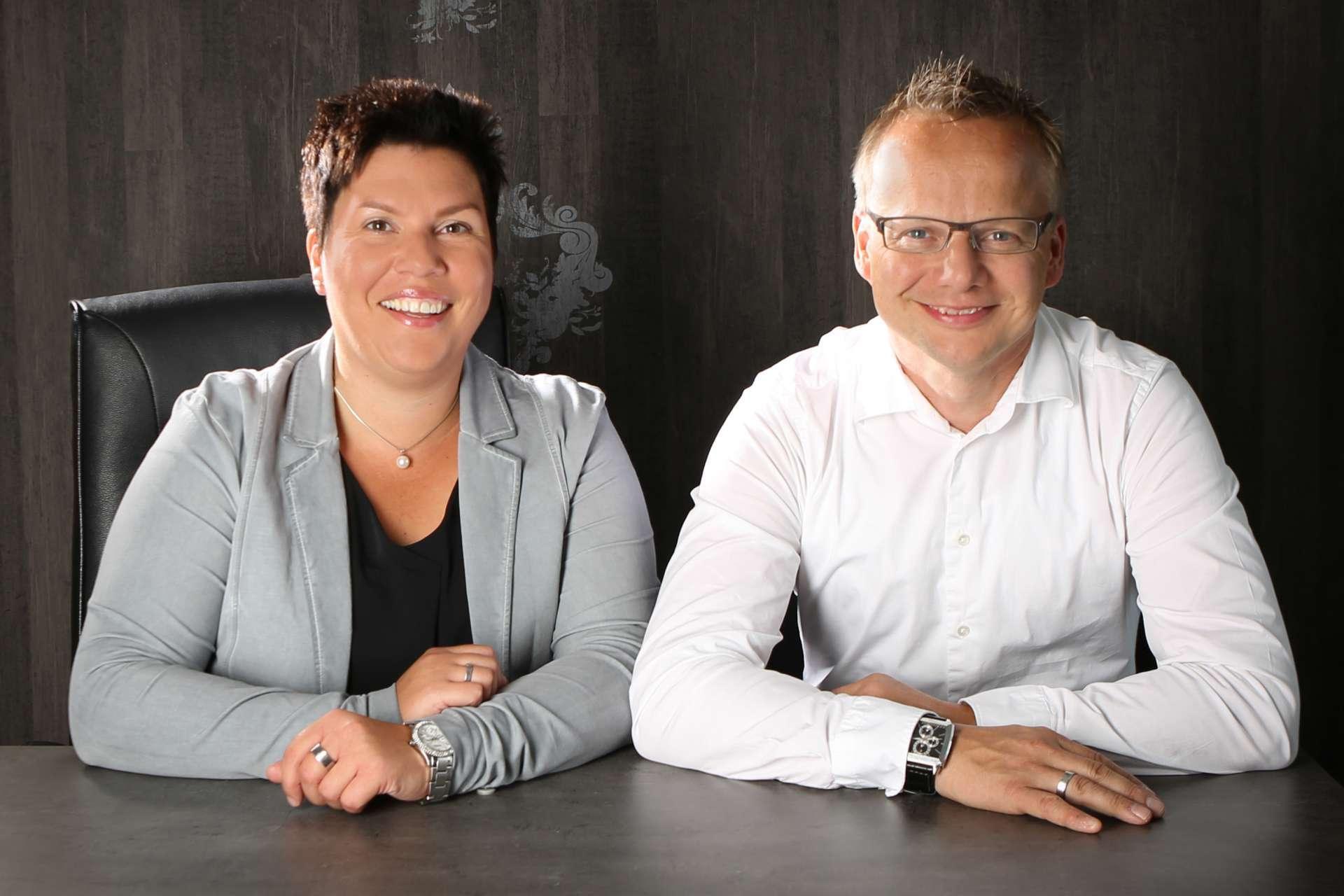 Malerbetrieb Reckersdrees: Sandra und Andre
